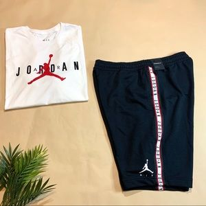 NEW Air Jordan Shorts & T-shirt Bundle - Sz Large